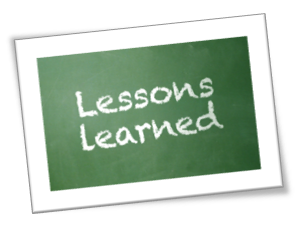 lessons learned template .